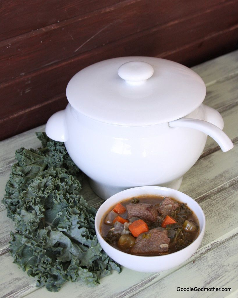Winter Kale Beef Soup Recipe