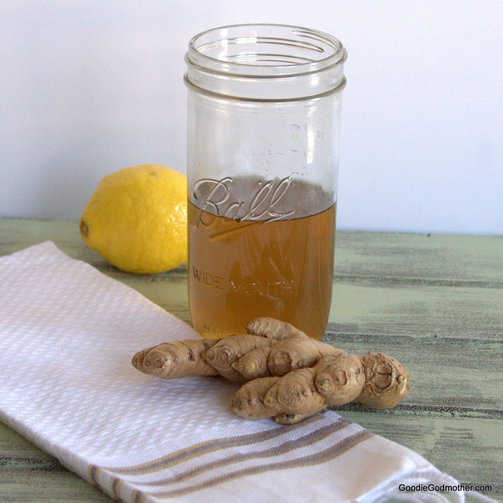 DIY Ginger Simple Syrup