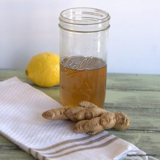 Organic Ginger Simple Syrup