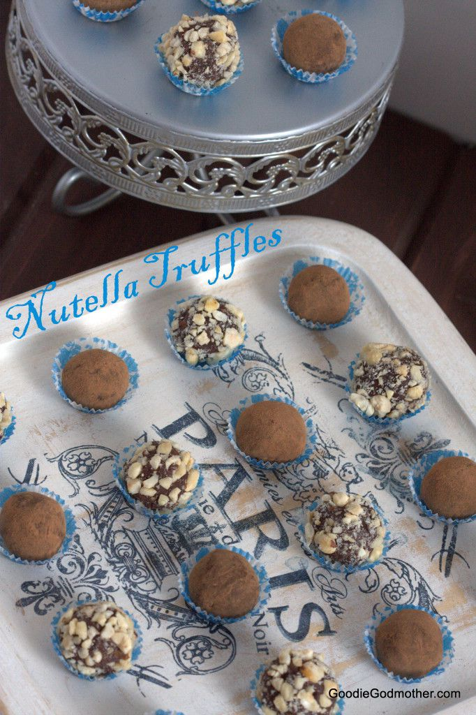 Easy Nutella Truffles Recipe
