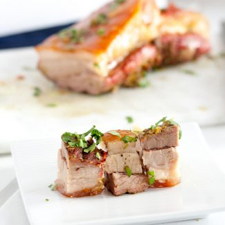 Crispy Oven Roasted Pork Belly