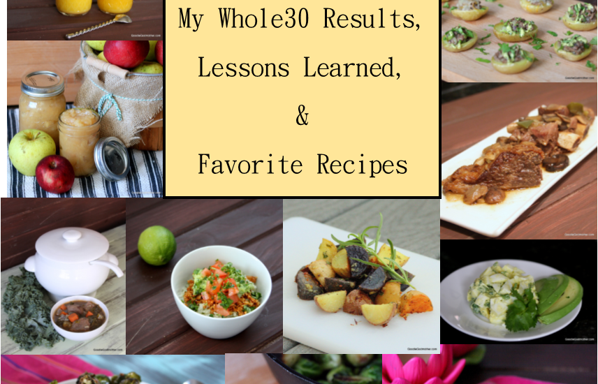 Whole30 Results And Favorite Recipes