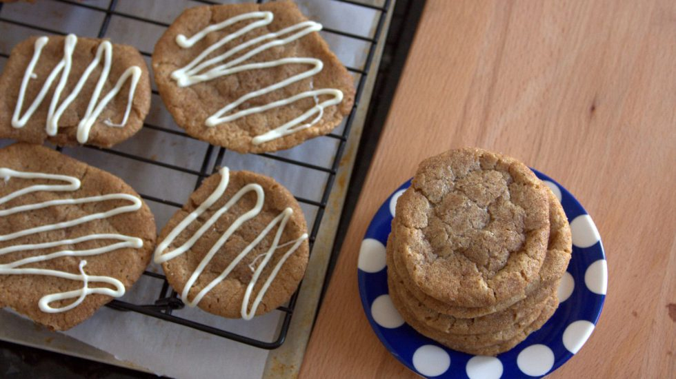 Secret Recipe Club: Cookie Butter Snaps