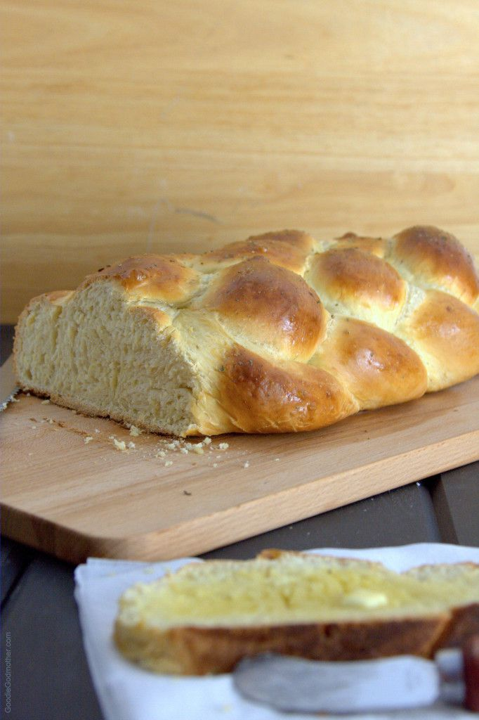 Challah bread recipe with flavors inspired by Texas toast! The blog post also has a video showing you how to make a 6 strand braid.