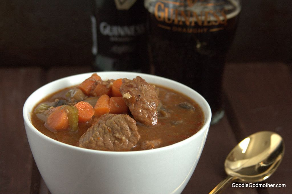 Guinness Beef Stew Recipe for St Patrick's Day!
