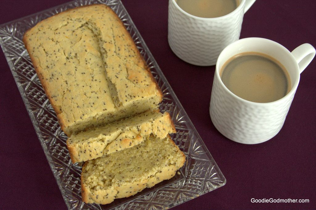 "Lemon Chia Seed ""Cake"" - A healthier sweet treat with the perfect amount of lemon zing!"