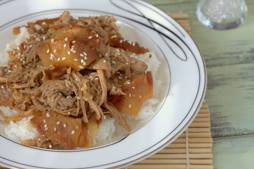 Slow Cooker Sesame Ginger Pork Recipe