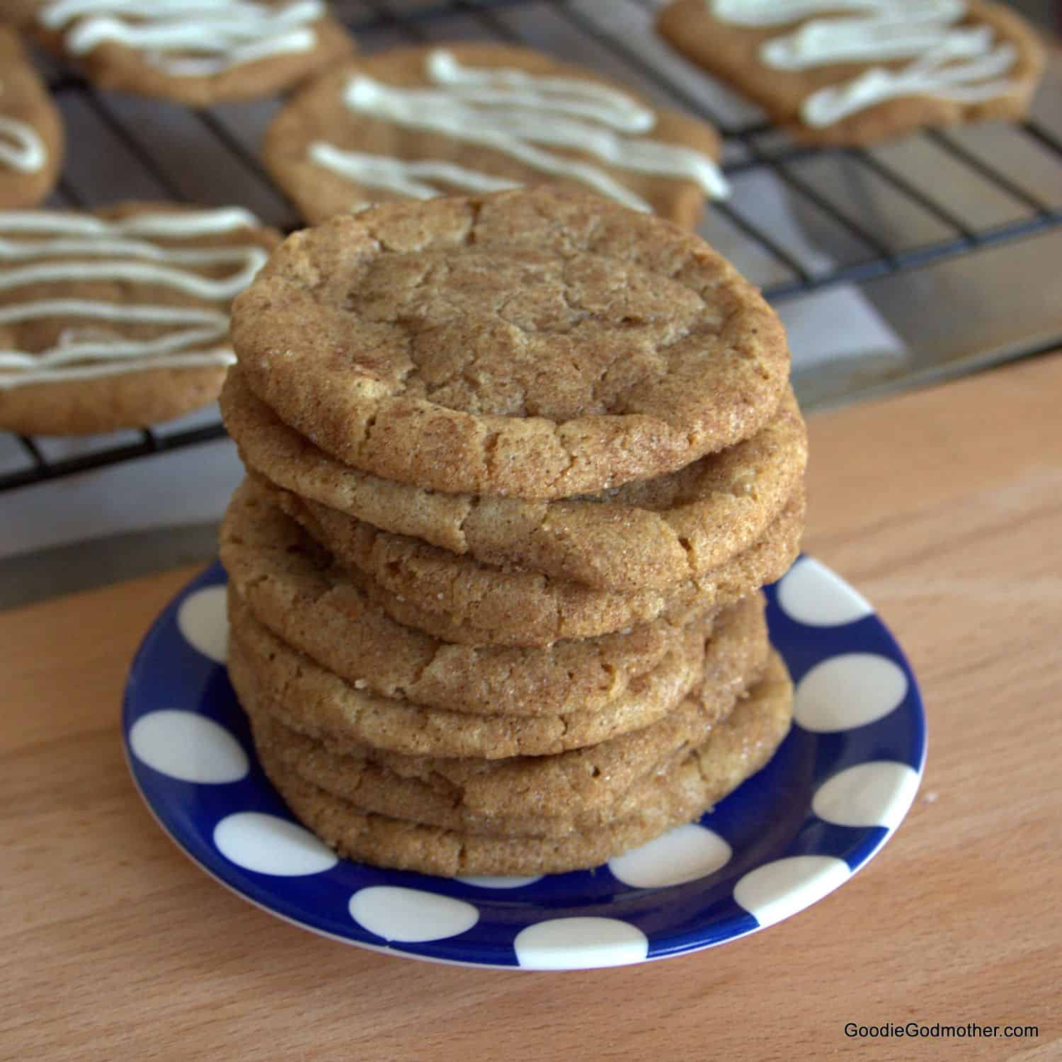 Crispy cookies made with just 5 ingredients, including totally addicting Speculoos cookie butter!