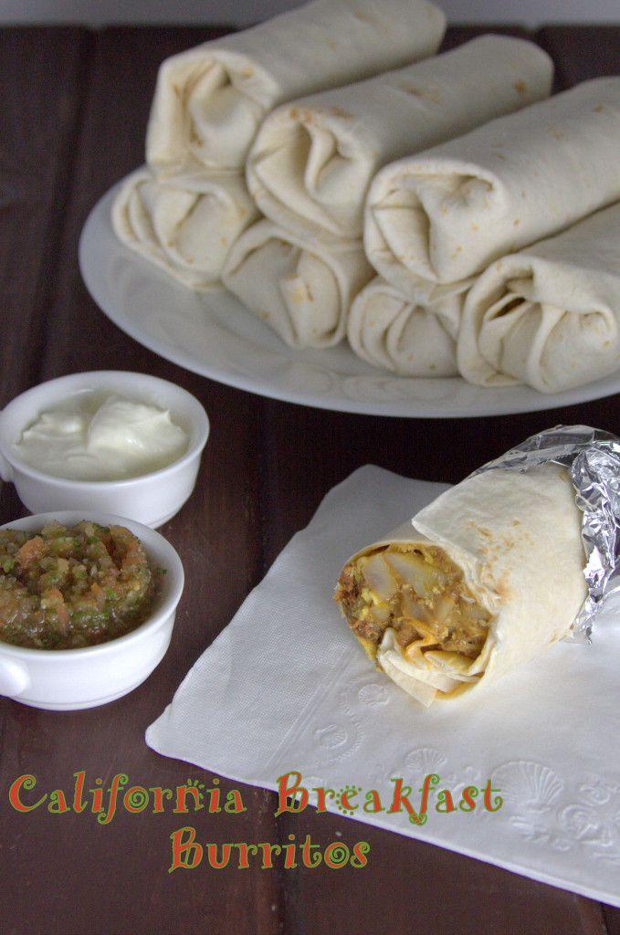 California Breakfast Burritos Recipe