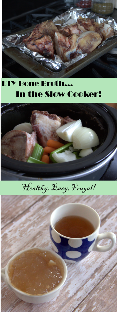You won't believe how easy it is to make your own beef bone broth at home in no time!