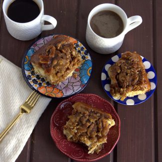 Soft, gooey, loaded with pecans, and a not-too-sweet flavor, this is quite possibly the only sticky bun recipe you'll ever need!