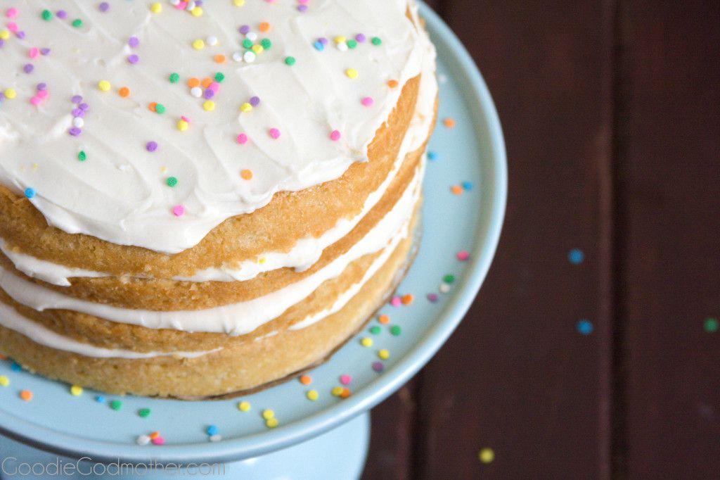 Magnificent Vegan Lemon Cream Cake Goodie Godmother Funny Birthday Cards Online Alyptdamsfinfo