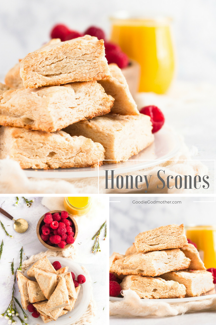 Skip the sugar and enjoy these scones sweetened naturally with local honey. They're even better the next day, so great to make in advance for brunch!