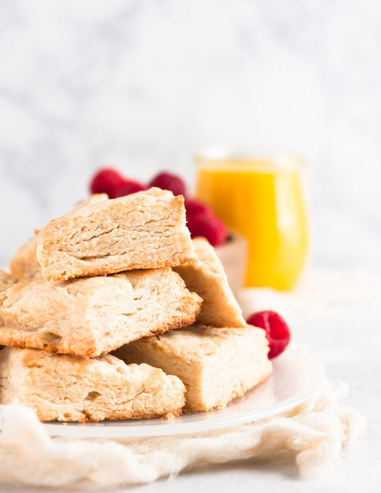 Skip the sugar and enjoy these honey scones sweetened naturally with local honey. They're even better the next day, so great to make in advance for brunch! * Recipe on GoodieGodmother.com