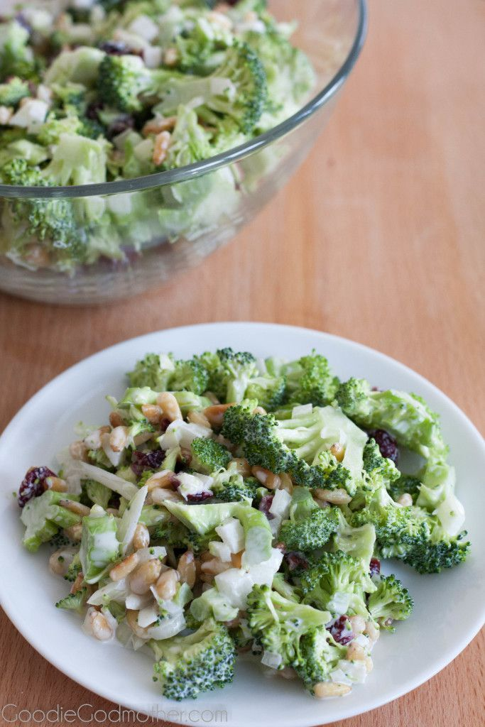 My favorite easy broccoli salad recipe!
