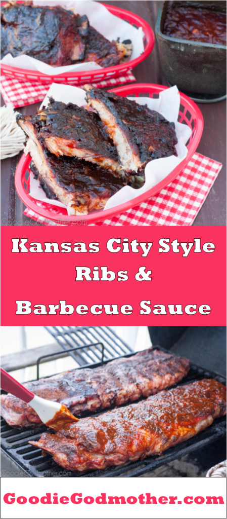 Copycat Joe's Kansas City rib recipe and barbecue sauce! Make your own fall-off-the-bone ribs and barbecue sauce from scratch at home. Mouthwatering results courtesy of GoodieGodmother.com