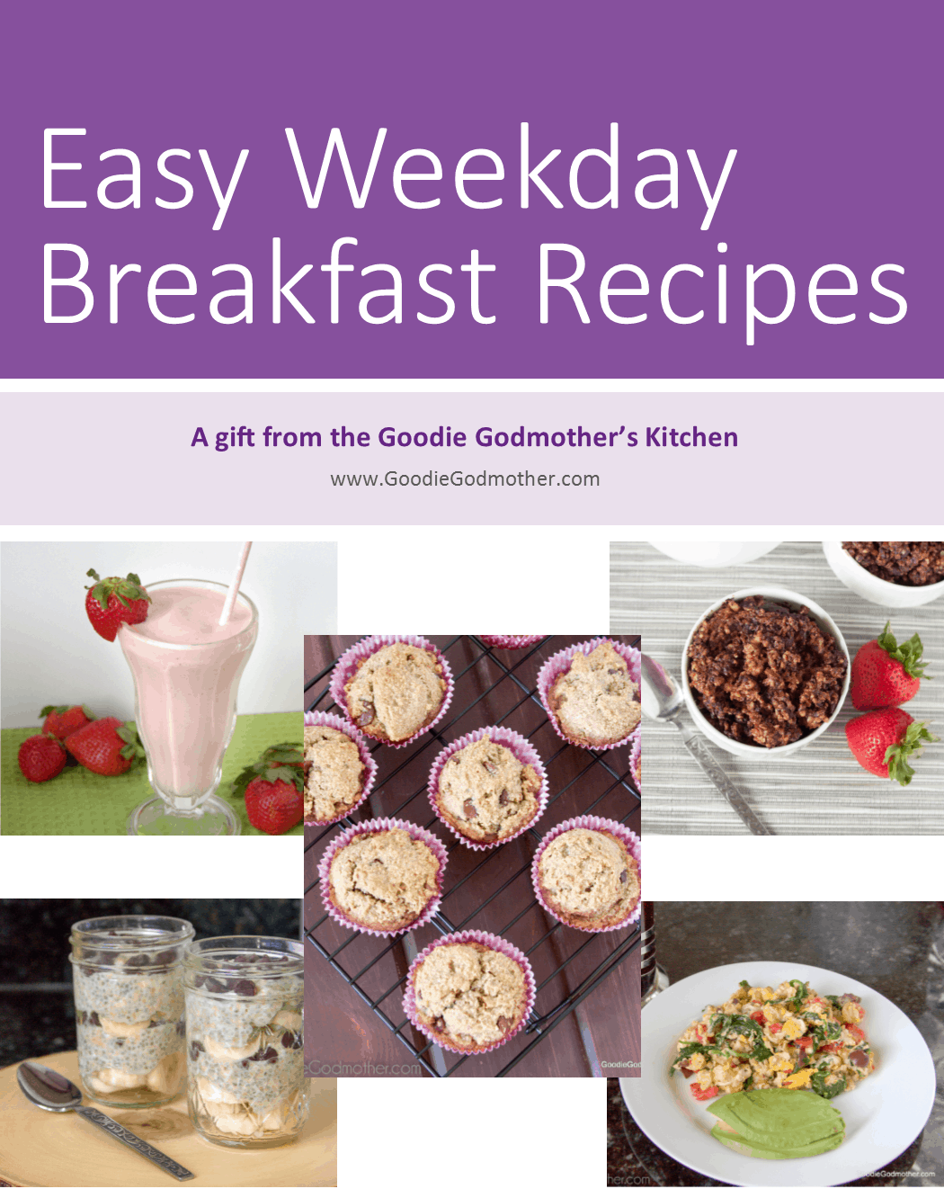 Free Cookbook for Goodie Godmother email subscribers