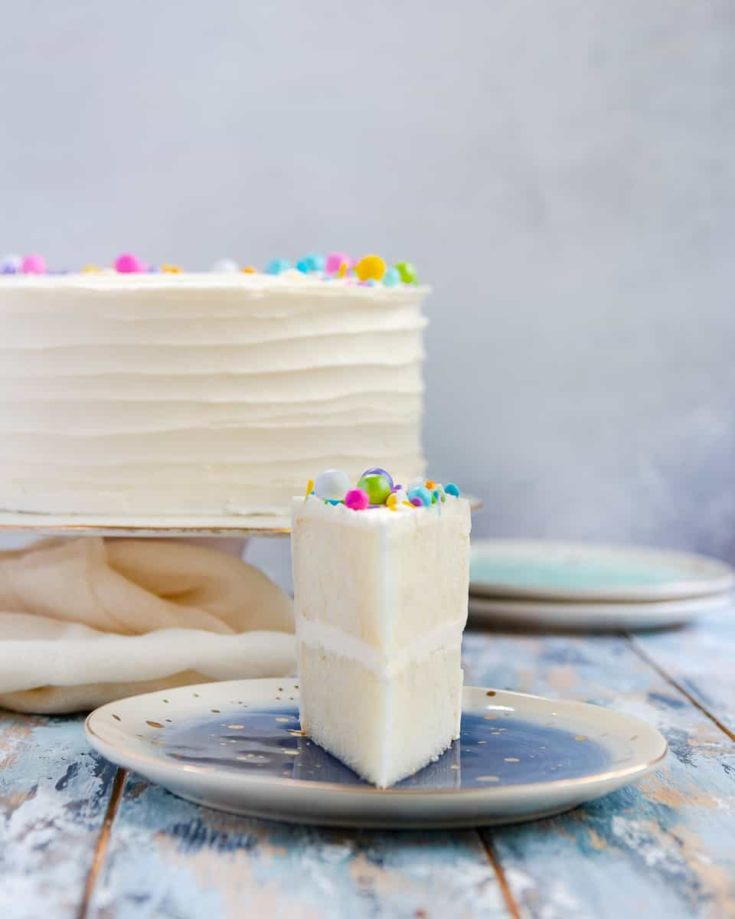 White Cake Recipe From Scratch Goodie Godmother