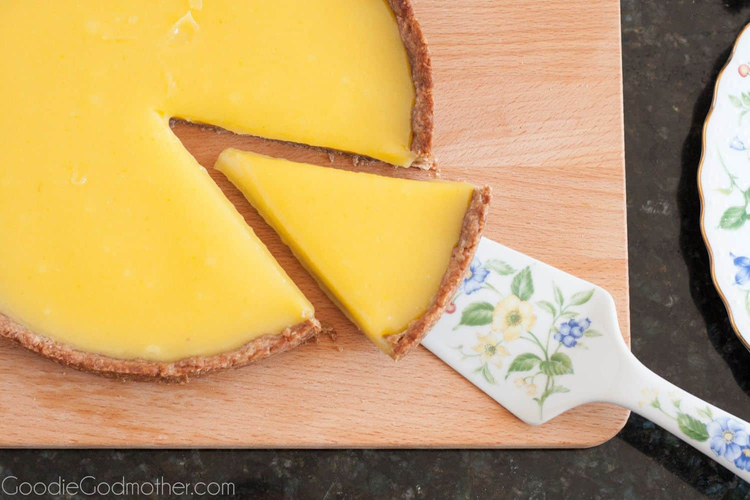 Key lime tart is an easy, make ahead, key lime dessert with a refreshing sweet