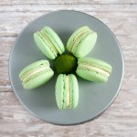 Gluten Free Key Lime Macaron Recipe on GoodieGodmother.com