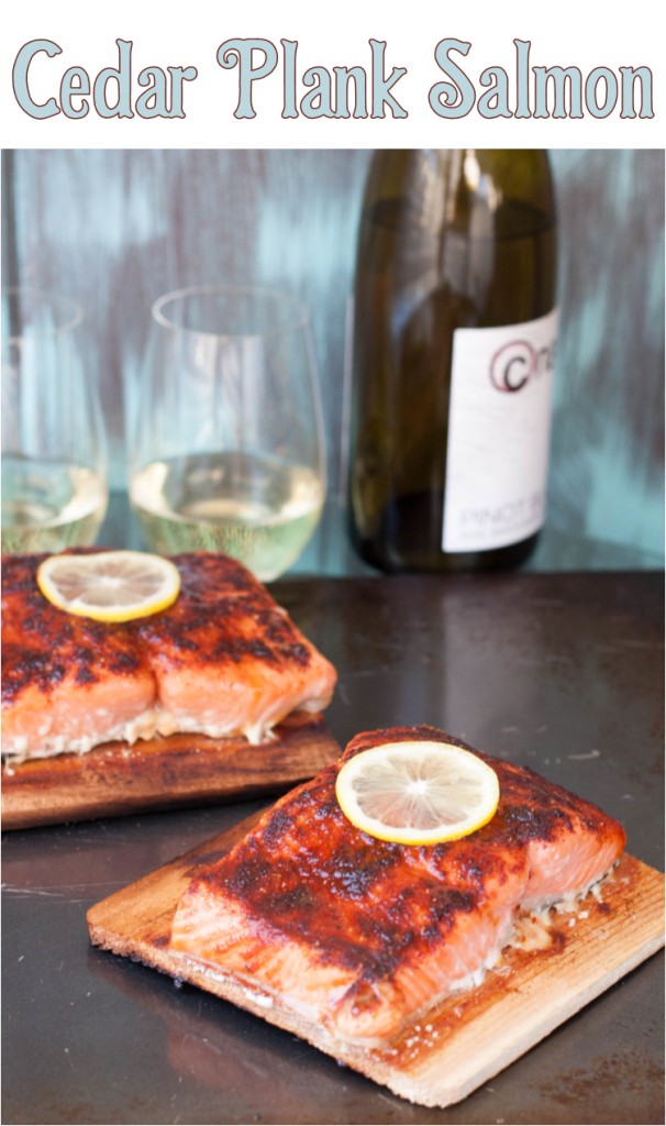 Individual cedar planks are an elegant way to prepare and plate salmon, and easier to make than you'd think! Recipe on GoodieGodmother.com