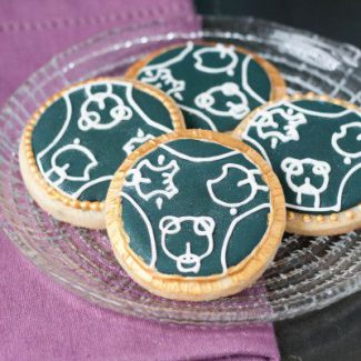 Doctor Who Wedding Cookies Tutorial