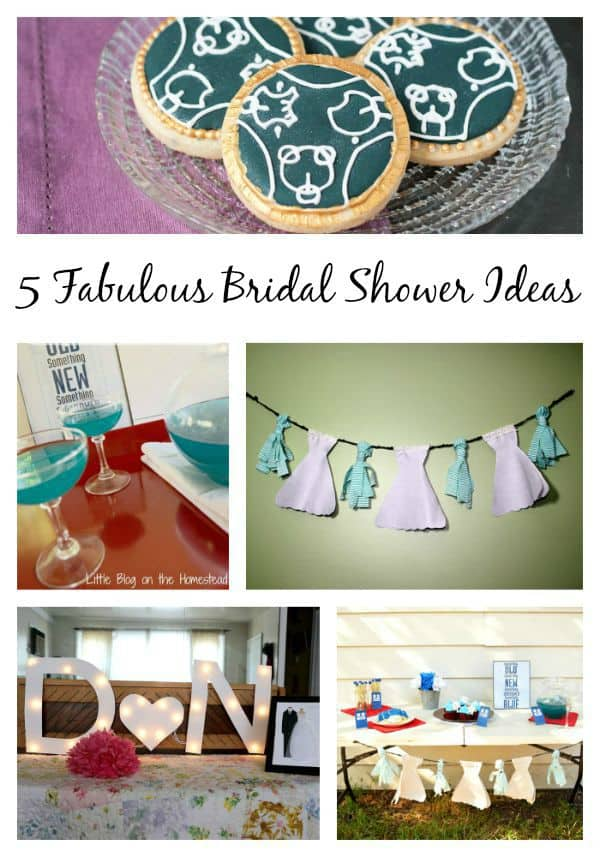 5 Fabulous bridal shower ideas, some with a #DrWho twist!