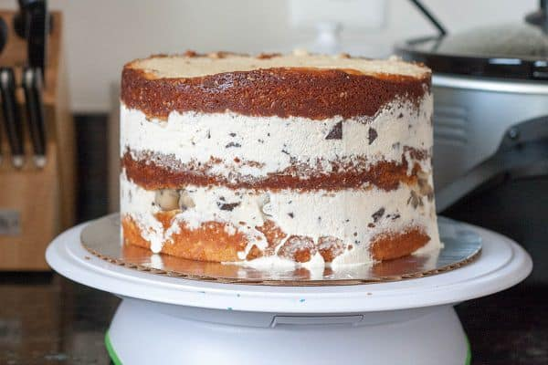 Cookie Dough Ice Cream Cake - Goodie Godmother - A Recipe ...