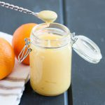 Citrus curd without the pucker, this orange curd recipe reminds me of a creamsicle. Recipe on GoodieGodmother.com