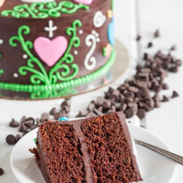 Mexican Chocolate Cake Recipe - Dark chocolate, cinnamon, fresh orange, and everything you love about Mexican chocolate, in cake form. ;)