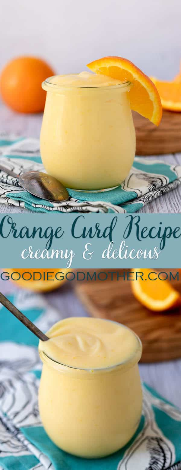 Creamy orange curd is easy to make at home! This easy to follow orange curd recipe works with any orange (even blood oranges), and makes a delicious treat. Use orange curd as a filling for cakes, spread for scones, in a tart, or topping for fresh fruit.