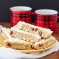 All natural flavors make these Fresh Cranberry Orange Bars an over-the-top holiday treat! Everyone said they were better than the coffee shop!