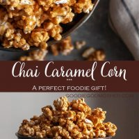 Chai Tea Caramel Corn