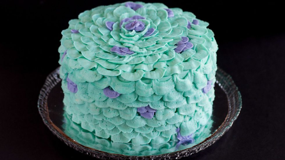 How To Make A Mermaid Smash Cake