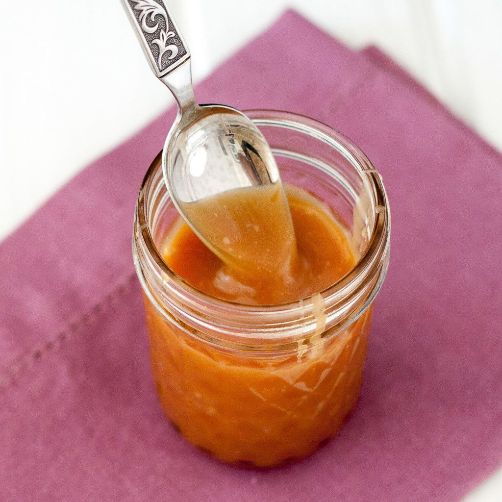 An easy to follow recipe for homemade caramel sauce that stays soft - even in the refrigerator! Perfect for dipping apple slices or pretzels or drizzling over desserts or into hot chocolate or lattes.