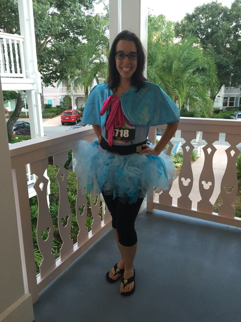 Goodie Godmother's Fairy Godmother running costume