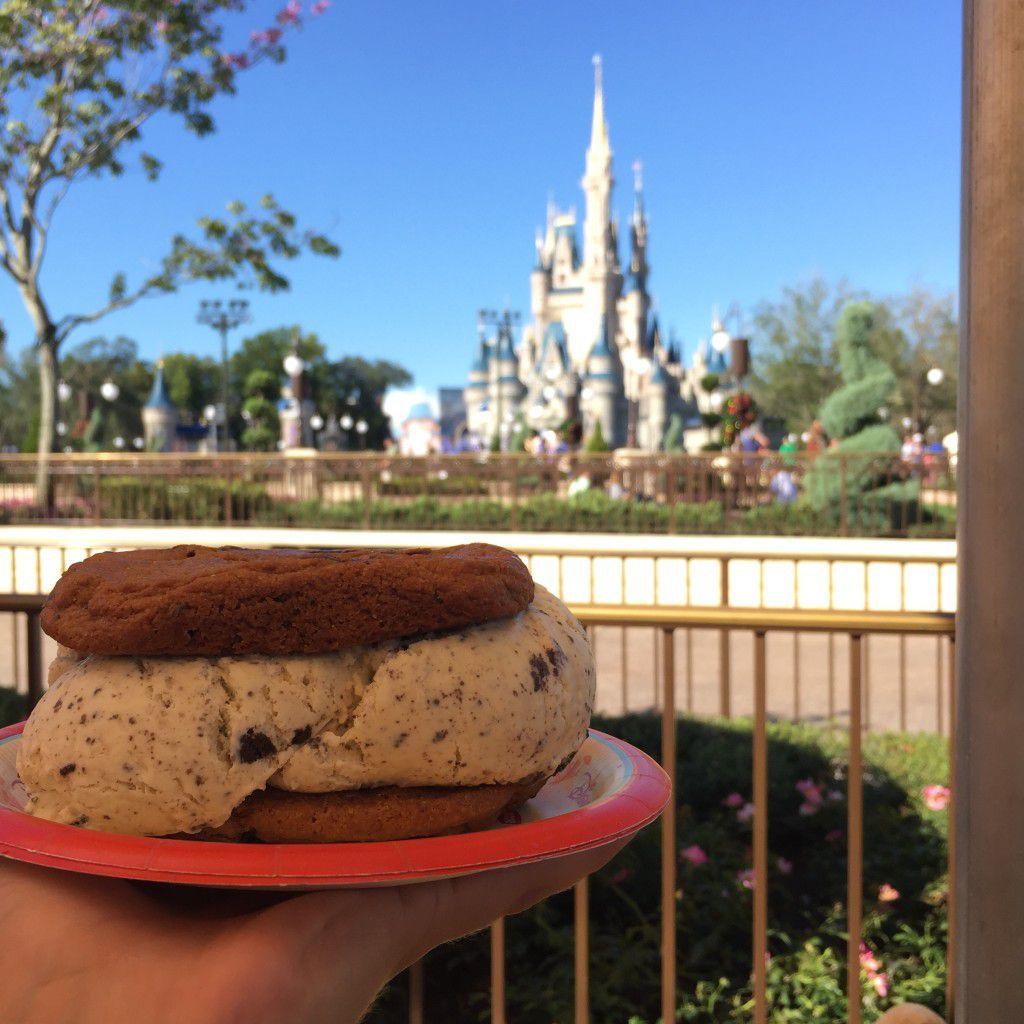 Ice Cream Sandwich - Magic Kingdom