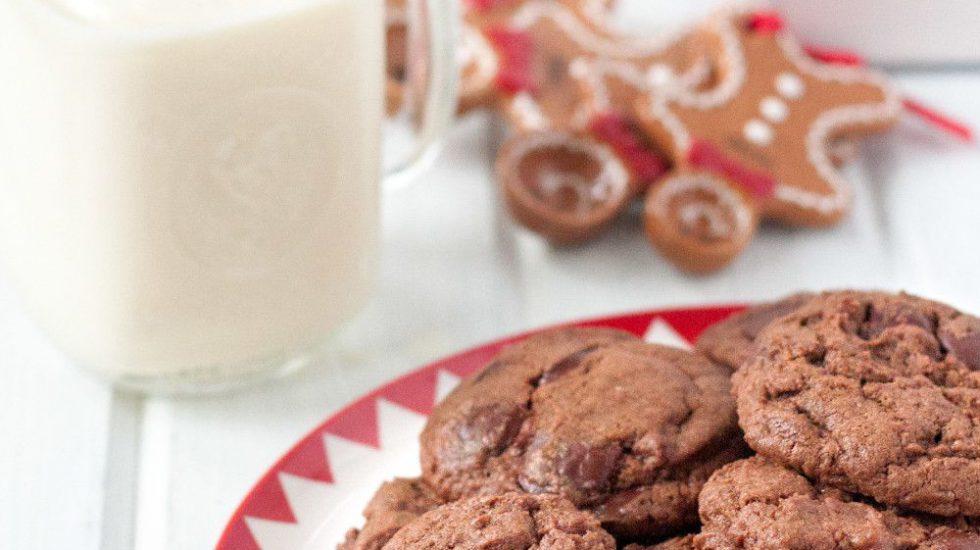 Chocolate Chinese Five Spice Cookies