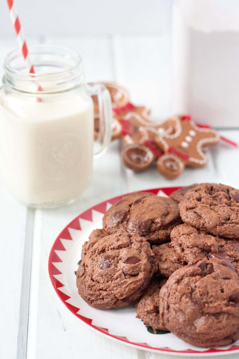 Chocolate Chinese Five Spice Cookies - a really unique Christmas cookie recipe for the foodie!