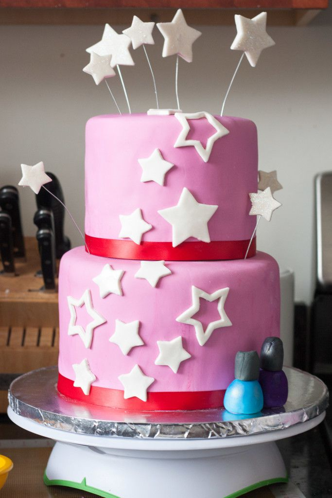 Sensational How To Decorate An American Girl Cake Goodie Godmother Personalised Birthday Cards Paralily Jamesorg