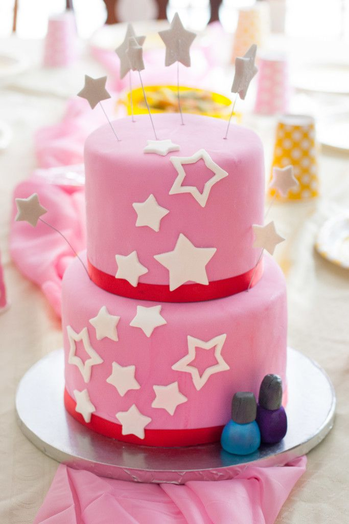 How To Decorate An American Girl Spa Birthday Cake Easy Do Even For