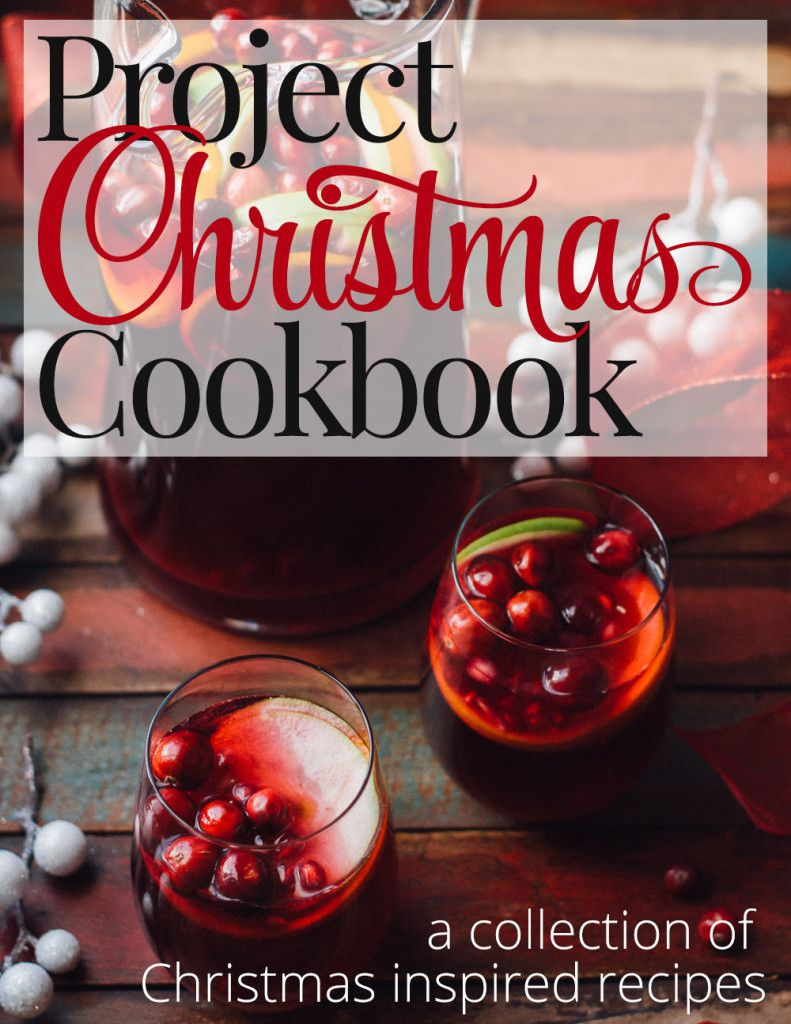 The Project Christmas Cookbook is a collection of 20 holiday recipes perfect for the season. It's only $8, and 100% of the proceeds will be donated to the No Kid Hungry Campaign. Visit the blog for more information and to purchase. Thank you for sharing!