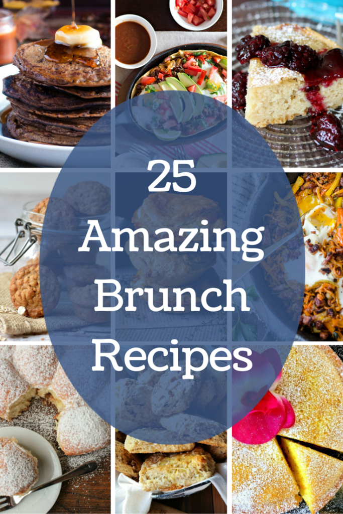 25 Amazing Brunch Recipes you should resolve to make in 2016! Get the full list on GoodieGodmother.com