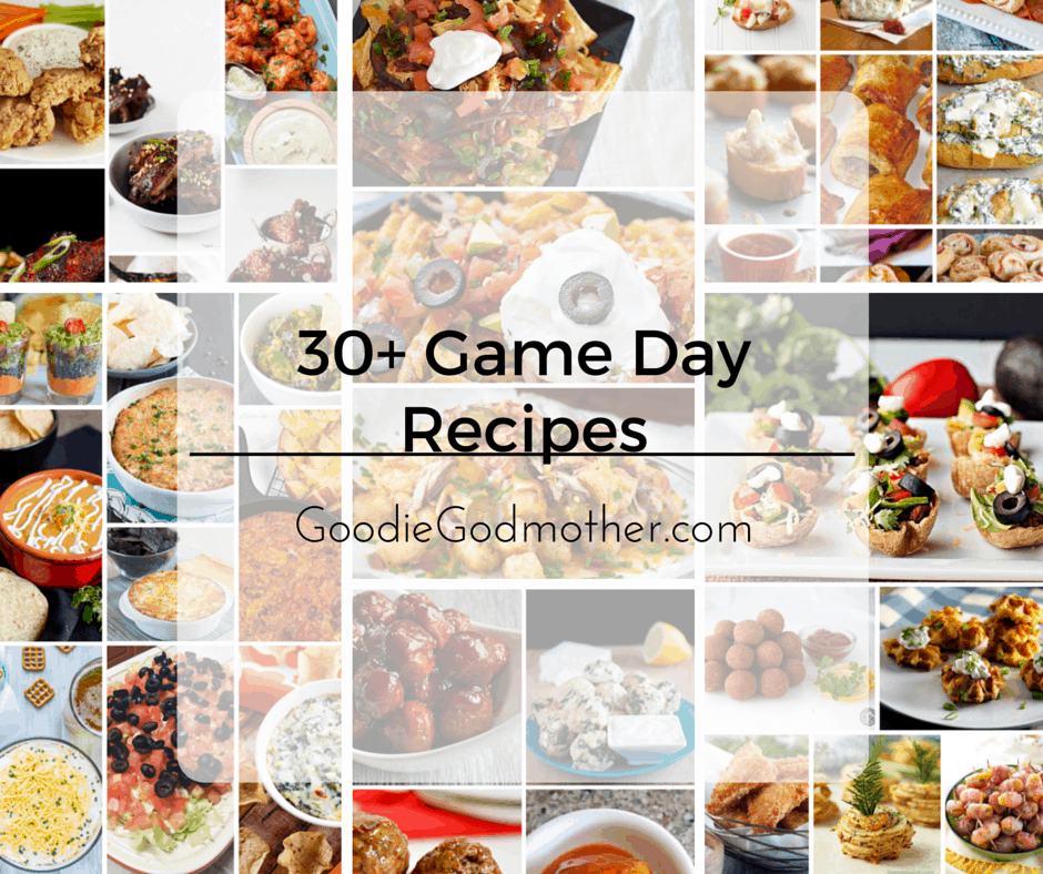 Get ready to host any game day party with this collection of 30+ different game day recipes by some of my favorite food bloggers!