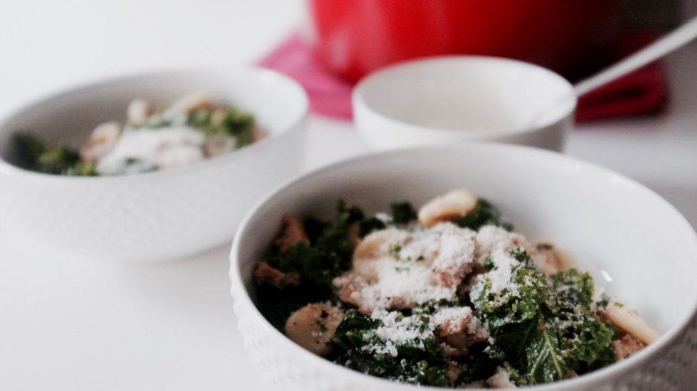 Healthier Pasta Recipe