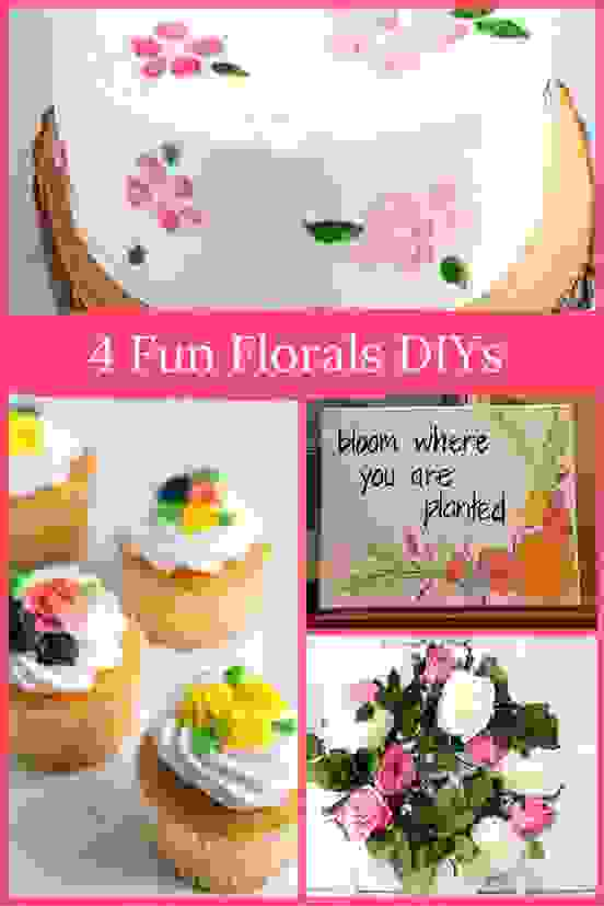 4 Fabulous Fun Florals