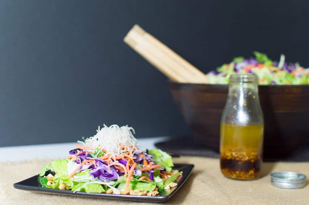 Crunchy Asian Noodle Salad - loaded with flavor and easy to make!