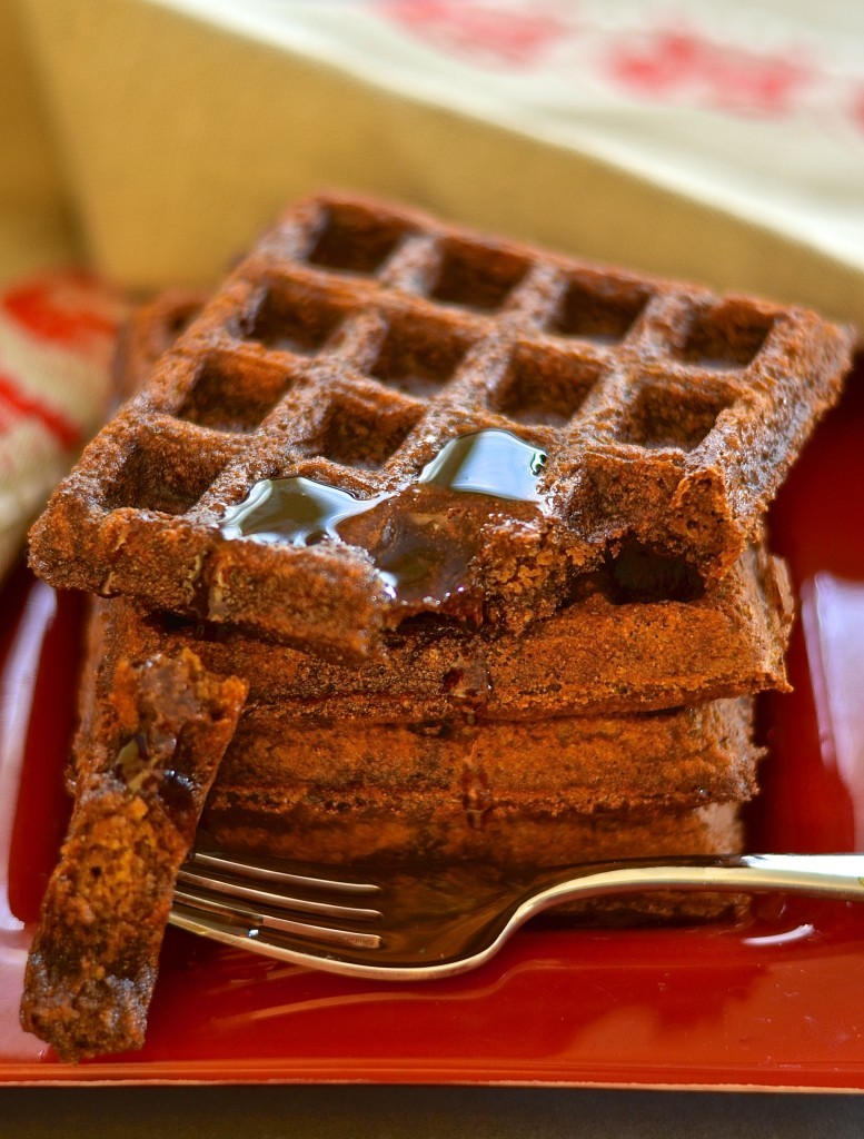 Gingerbread Waffles - Virtual Vegan