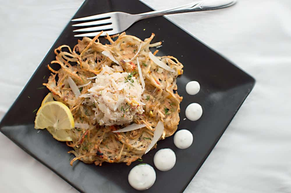 Potato Crab Waffles - TSP