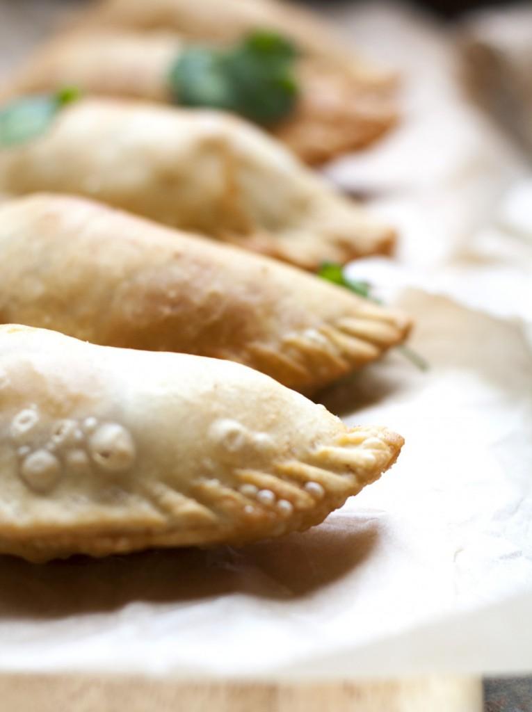 Spinach and Feta Empanadas - a delicious Mediterranean twist on a Latin treat! * GoodieGodmother.com